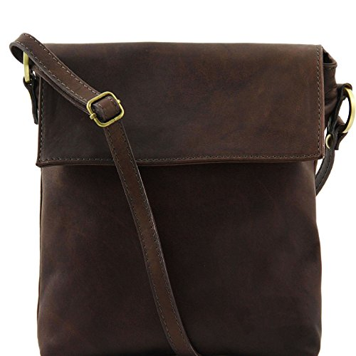 Tuscany Leather Morgan - Borsa a tracolla in pelle - TL141511 (Testa di Moro)