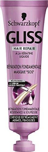 Gliss Schwarzkopf Masque Sos Réparation Fondamentale Sérum 20 ml - Lot de 3