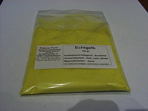 Kalkfarbe Gelb – Pigmente zum Färben