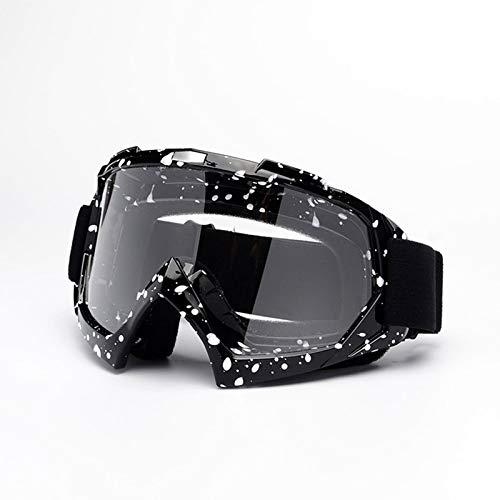 Bishilin Motorradbrille Motocross Schnee Brille Herren Damen Arbeitsbrille Schutzbrille Stil 3 Schutzbrille