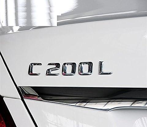 E661 C200 C200L Emblem Badge auto aufkleber 3D Schriftzug emblème car Sticker