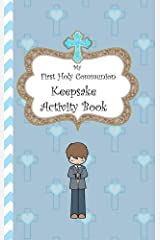 My First Holy Communion Keepsake Activity Book Hardcover