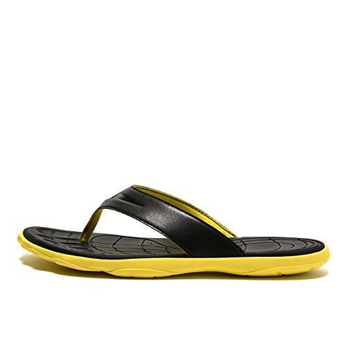Infradito Antisdrucciolevoli Pesante Degli Fondo Pantofole Da Gialle Spiaggia Uomini Scarpe Scarpe rOf0rqSU