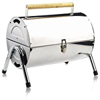 Deuba BBQ Grill Portable Folding Stainless Steel Griddle Barbecue Camping Garden Outdoor 1