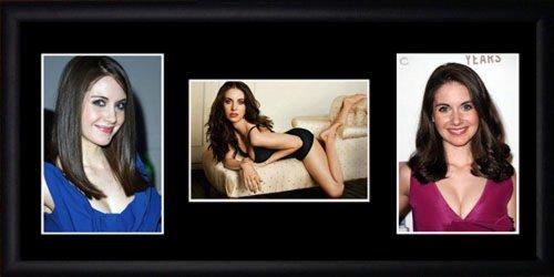 Alison Brie gerahmtes Foto - Brie Alison Fotos