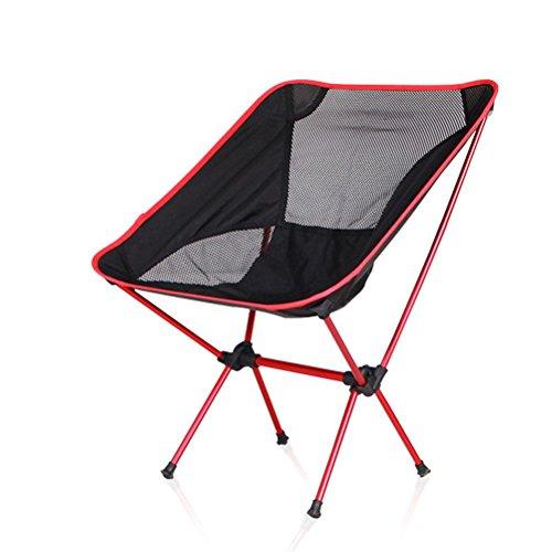 HRRH Leichter Klappstuhl Sitz für Outdoor Angeln Camping Freizeit Picknick Strandkorb Andere Angeln Werkzeuge Freizeit Stuhl Tragfähig: 150kg, B -