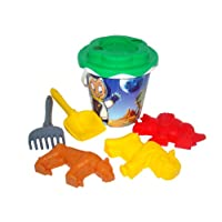 Wader Decorated Bucket/ Sunflower Sieve/ Sand Spade/ Rake and Sand Moulds(Designs may vary)