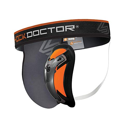 ShockDoctor Tiefschütz Herren mit Ultra Carbon Flex Cup - Entwickelt für den Kampfsport: Boxen, Karate, Taekwondo, Krav Maga, MMA, Muay Thai ...