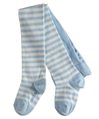 FALKE Baby Strumpfhosen / Leggings Stripe - 1 Paar, Gr. 74-80, blau, Baumwolle verstärkt, hautfreundlich, Ringelmuster, Jungen Mädchen