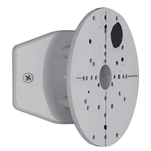 EGLO Außenbeleuchtung Eckanbindung für Außenleuchten silber Stahl