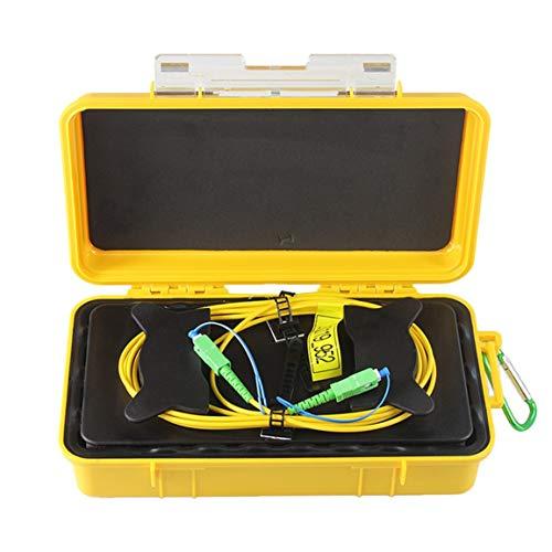 SC/APC Professional Einmoden-OTDR-Einführungskabel (2000M) Box Glasfaserring OTDR-Einführungs-Glasfaserkabel (Farbe: Weiß) -