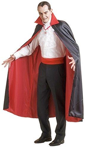 Vampir Umhang Graf Dracula Deluxe für (Herren Kostüme Mantel Vampir)