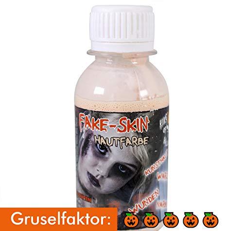 KOH,Latexmilch,Kunsthaut,Halloween Make up,Zombie,Wunden+Narben-FX Schminke (Kinder Halloween Alte Leute Kostüm)