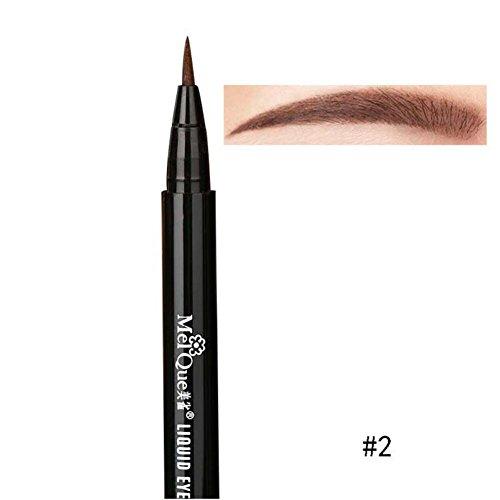 Yalatan Wasserdichte Augenbrauenstift Waterproof Eyebrow Liquid Pen Brow Definer