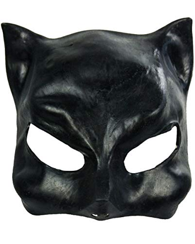 Halloween Karneval Party Kostüm Catwoman Latex Halbmaske für ()