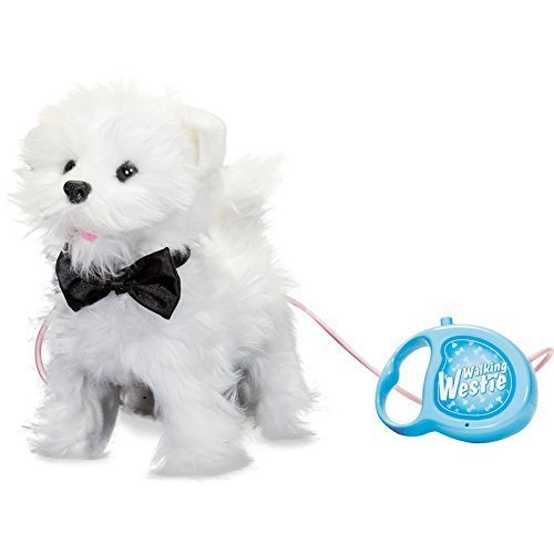 (Tobar Gehender und bellender Welpe - West Highland White Terrier (Hund mit Funktion / Fernbedienung))