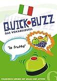 QUICK BUZZ - Das Vokabelduell - Italienisch: Sprachspiel