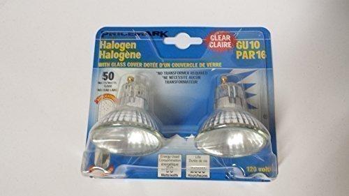 2er Pack Pricemark Halogen Par16 GU10 50W 120V 50 Watt Halogenlampe Reflektor Halogenbirne -