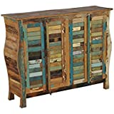 Nightstand Cabinet in Reclaimed Wood Cabinet