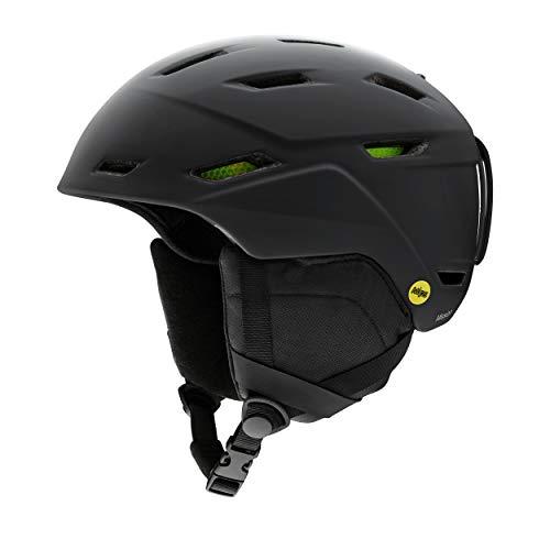 SMITH (SMIZD) Unisex- Erwachsene Mission Helm mit Koroyd und MIPS, Matte Black, XL / 63-67