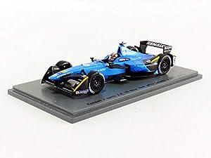 SPARK-Coche en Miniatura de colección, S5922, Azul/Negro