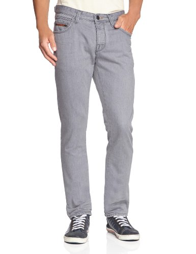 CAMPUS Herren Jeans Normaler Bund 366 9138 12056 Grau (041 brushed grey)