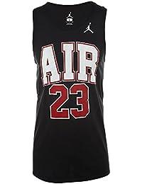 Nike Jordan Air 23 Camiseta de Tirantes, Hombre, Negro, Extra-Large