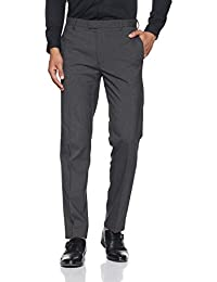 Marks & Spencer Men's Slim Fit Formal Trousers - B076HGRQCY