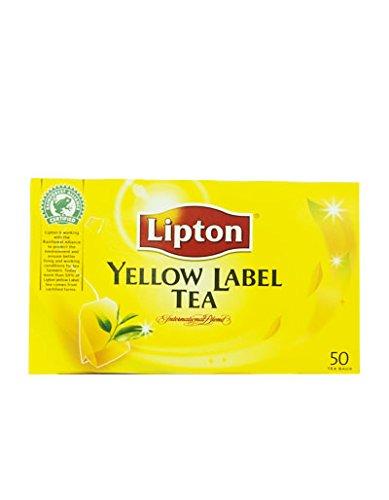 Lipton Yellow Label Tee 50Teebeutel 100g. (2g. Pro Tasche) 1Box. - 100 Teebeutel Lipton
