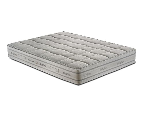 nicoflex-zeus-materasso-memory-poliuretano-cotone-argento-esclusiva-amazon-190x140x25-cm
