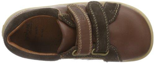 Bobux 430614, chaussons d'intérieur garçon Marron - Braun (brown 2)