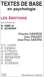 Textes de base en psychologie : LES EMOTIONS.