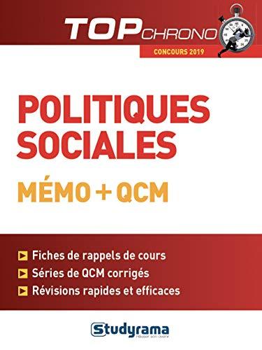 Politiques sociales : Mémo + QCM