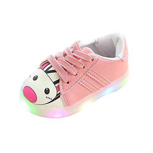cinnamou Babyschuhe LED Licht, Jungen Mädchen Unisex Baby Kinder Sneaker Lauflernschuhe Sport Schuhe, Baby Mädchen Sportschuhe1-3Jahre