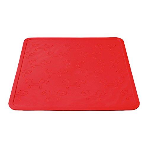 Artikelbild: United Pets GI0601RS Napfunterlage - Mustafà, groß, rot