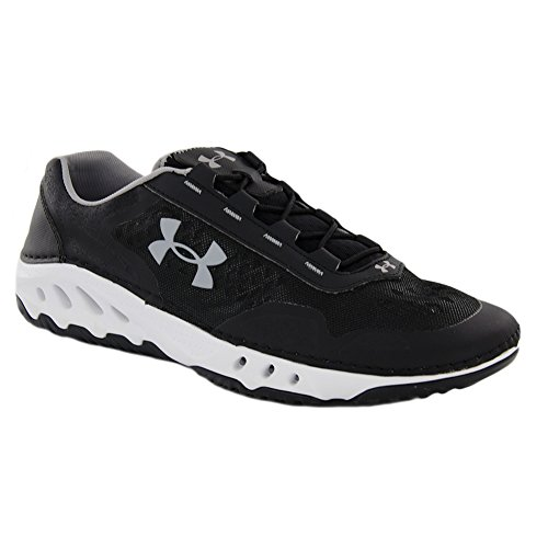 Under Armour Mens Drainster Fishing Shoe Black / White