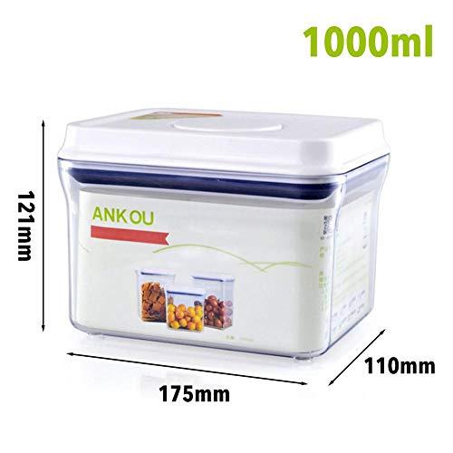 GIFUL Frischhaltedose Müsli Nuss Container Küche Sortiment Frischhaltedose