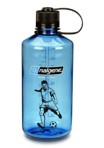 Preisvergleich Produktbild Nalgene Flasche 'Everyday' - 1 L, blau, Fussball