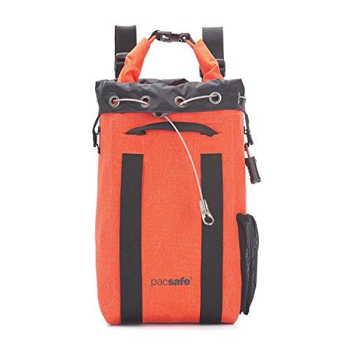 Pacsafe Travelsafe 15L Dry - Mobiler, Wasserdichter Safe mit TSA-Zahlen Schloß, Anti-Diebstahl Technologie, 15 Liter Volumen, ...