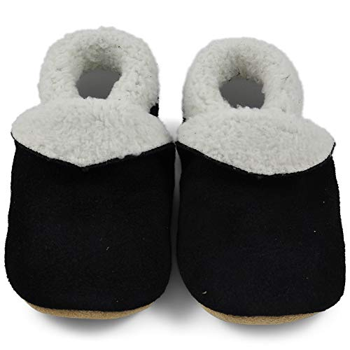 Playshoes Scarpe A Calzino con Suola Antiscivolo-Stelle Pantofole Bambina