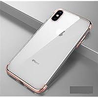 Shinyzone Huawei P20 Lite Zurück TPU Hülle,Kristall Transparentes Silikon + Überzug Roségold Bumper Stilvoll Design... preisvergleich bei billige-tabletten.eu