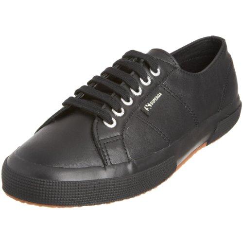 Superga 2750 Fglu, Sneakers Basses mixte adulte, Noir (A09 Full Black), 45 EU Noir (A09 Full Black)
