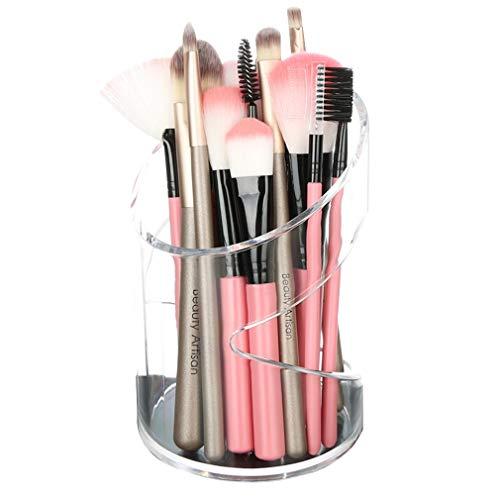 Boîte de Rangement pour Organisateur de Maquillage, Coffret À Bijoux de Comptoir pour Cosmétiques, Pinceaux, Rouge À Lèvres, Fond de Teint, Accessoires