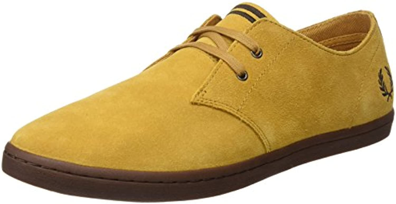 Fred Perry Byron Low Suede, Zapatos de Cordones Oxford Hombre -
