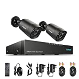 H.View 4.0MP CCTV Camera Systems Including 4CH 5 in 1 DVR Recorder