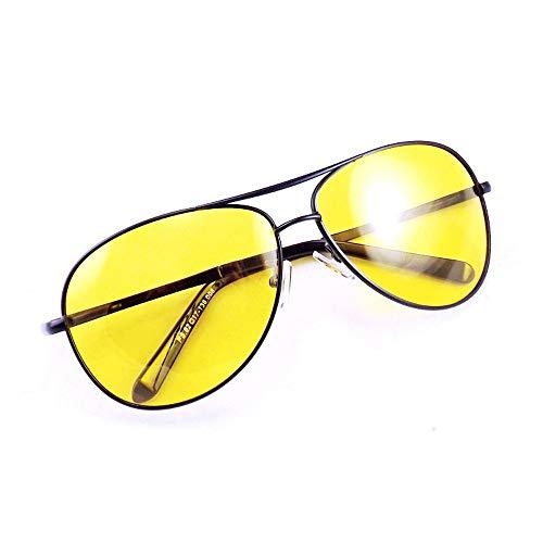 Yiph-Sunglass Sonnenbrillen Mode UV400 UV Cut Nightglasses Herren Nachtfischen Nachtfahrten Polarisierte Gläser Tag & Nacht Polarisierte Sonnenbrillen Fahren