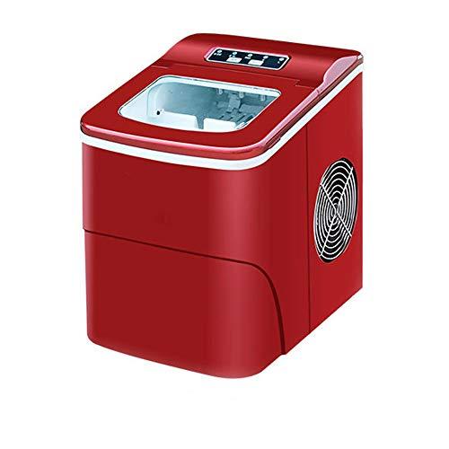 SUM Eismaschine - Theken-Eismaschine - Neues kompaktes Modell - Keine Installation erforderlich - Produziert Eiswürfel in weniger als 10 Minuten mit - 15 kg EIS in 24 Stunden -