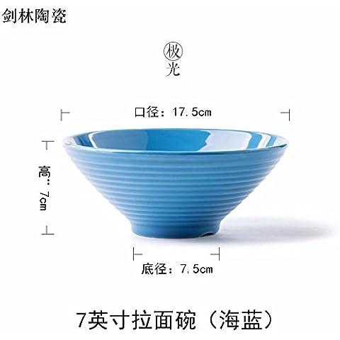 Creative occidentale coppa in ceramica della zuppa insalatiera Posate da tavola , , Singola ,17,5*7,5*7cm,d - Forcella Coppa