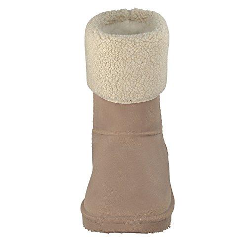 Gosch Shoes Sylt - Donna Stivali in Gomma Gezeiten rivestimento caldo in 2 colori Tgl 35-45 Cammello