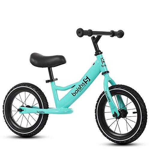 Balance Bike für 2-8 Jahre Jungen Mädchen Geburtstagsgeschenk, leichte 12